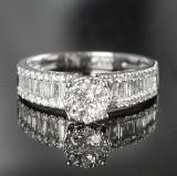 Diamond ring, approx. 1.25 ct.