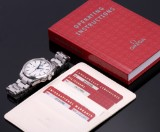 Omega 'Seamaster Aqua Terre Chronograph'. Men's watch, steel with box, papers and certificate