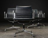 Charles Eames. A set of four armchairs, model EA-108 (4)