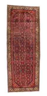 Persisk Arak tæppe, 310x113 cm.