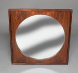 Spejl i ramme af palisander