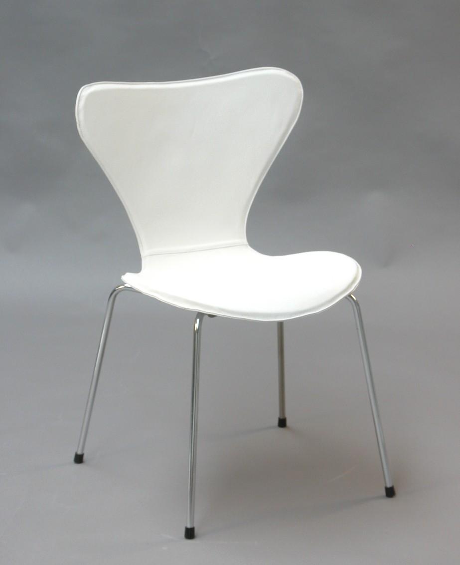 syver stol hvid