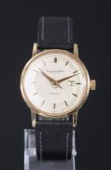 IWC. International Watch Co, Schaffhausen, herrearmbåndsur, 18 kt