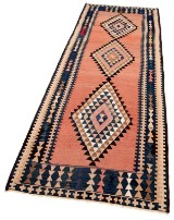 Harsin Kelim tæppe, 277 x 110 cm