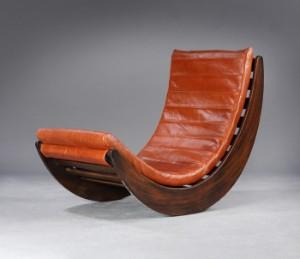 verner panton rocking chair model relaxer lauritz com