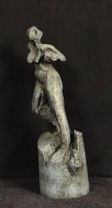 Sonja Zeltner-Müller, bronzestatue, 'Weiblicher Akt'