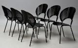 Nanna Ditzel. Sæt på seks 'Trinidad' stole, model 3298 (6)