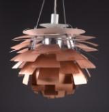 Poul Henningsen. PH Artichoke, copper, Ø 60 cm