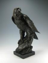 Bronzedyrefigur 'Ørn'