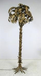 Stor standerlampe med form som en palme, Italien 1960'erne/70'erne