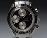 Omega 'Speedmaster Date' men's watch, steel, from 2010