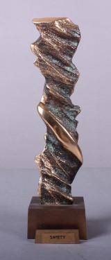 Carsten Hansen, født 1972: Bronzefigur, Safety