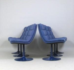 geoffrey harcourt set st hle der 1960 70er jahre f r artifort 6. Black Bedroom Furniture Sets. Home Design Ideas