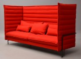 Erwan and Ronan Bouroullec. Alcove high-backed three-seater sofa