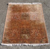 Srinagar Kanchipur silk carpet, approx. 130 x 180 cm
