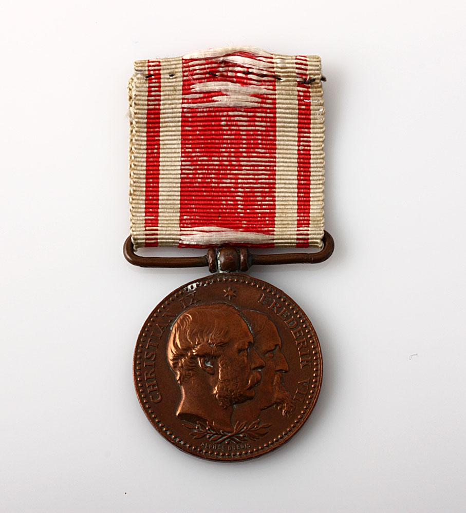 for deltagelse i krigen 1864 medalje pris