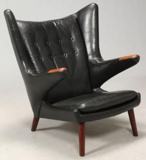 ware 4020242 h j wegner sessel 39 papa bear chair. Black Bedroom Furniture Sets. Home Design Ideas