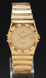 Omega Constellation Chronometer men's watch, 18 karat gold