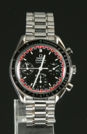 Nye og brugte herreure - Rolex, Cartier, Omega, Breitling - Omega Speedmaster Racing ...