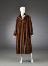 Brdr. Alex Petersen. Mink coat, size 42
