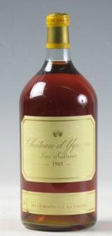 1 Dobbelmagnum (3 liter) Château d'Yquem 1983 (1)