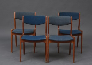 dansk design spisestole Dansk design spisebordsstole af teaktræ (4) | Lauritz.com dansk design spisestole