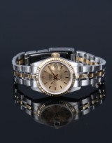 Tudor by Rolex 'Princess Date' ladies' watch, 18 kt. gold and steel, c. 2000