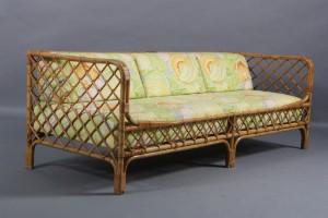 bambus sofa Dansk møbelproducent. Sofa med stel i bambus. | Lauritz.com bambus sofa