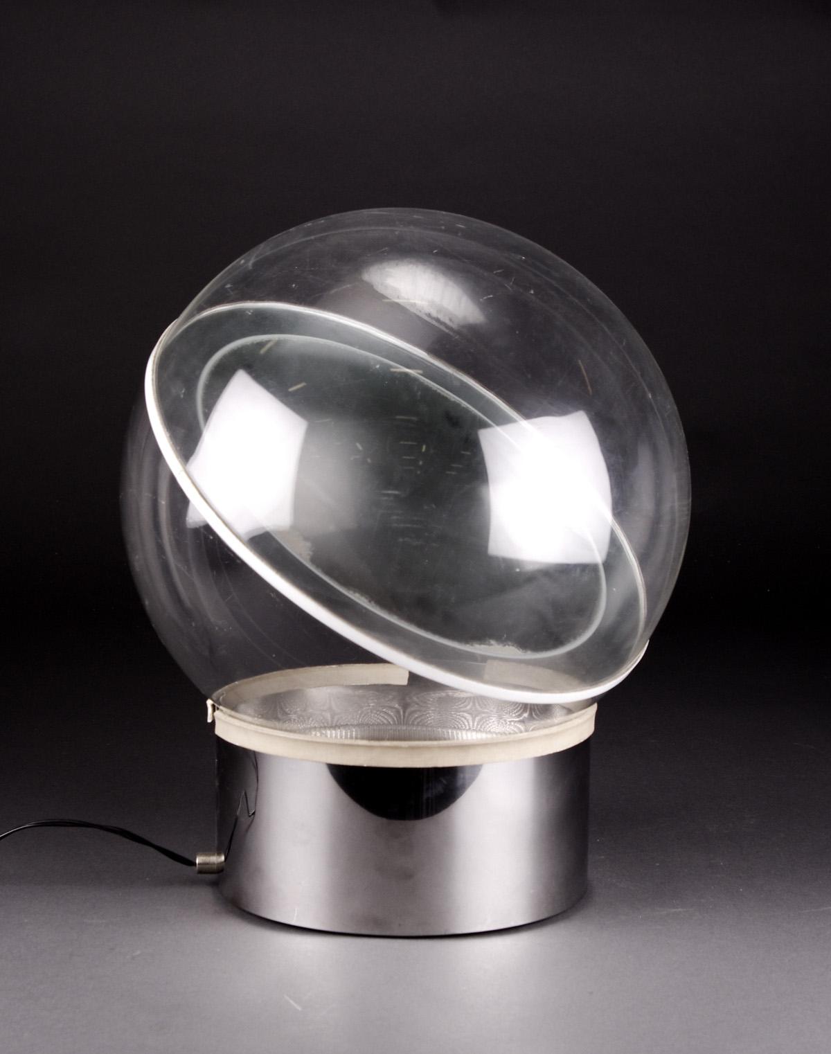 Filippo Panseca, Kartell, table lamp, model 'da Terra