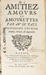Le Pays' Amotiez, amours, et amourettes 1665