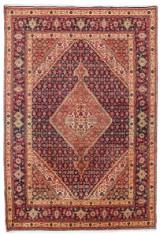Persisk handknuten matta, Täbriz, 290x195 cm