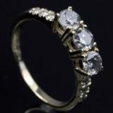 Brilliant-cut diamond ring, approx. 1.10 ct.