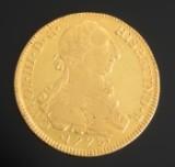 Mexico. Gold coin, 8 Escudos 1778