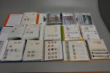 Samling frimærker, FDC, årsmapper. Danmark, Færøerne og Grønland