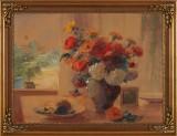 F Raue akvarell