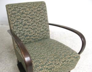 Paar lounge sessel tschechien 1930 40er jahre 2 for Sessel 40er jahre
