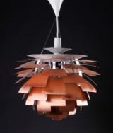 Poul Henningsen. PH Artichoke. Pendant lamp, copper, Ø 60