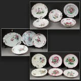 Collection of faience, 18th-19th century (15)