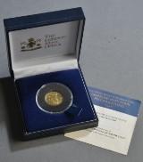 Æske med 50 dollars guldmønt fra Sierra Leone 2006