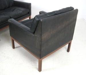 lounge suite dreier sofa paar sessel der 1960er jahre. Black Bedroom Furniture Sets. Home Design Ideas