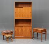 Dansk møbelproducent: Reol mm - teaktræ (5)