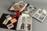 800 postkort fra mange lande hovedsaglig ældre, samt 200 mini billeder.