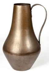 Vase, Krug / Gefäß, Kupfer, 1950er Jahre