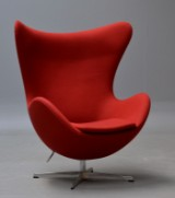 Arne Jacobsen. Easy chair, model 3316, 'The Egg', with tilt function