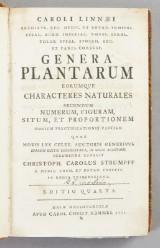 Linné Genera Plantarum 1752