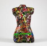 Per Ola Andersson. Skulptur, papier-maché, torso