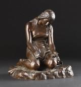 Ferdinand Barbedienne, skulptur, bronze