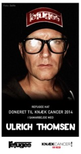 Ulrich Thomsens REFUGEE hat - Til fordel for Knæk Cancer 2014