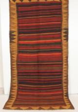 Persisk Harsin-Kelim tæppe, 290 x 140 cm.