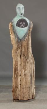 Jimmi Flyholm, skulptur 'Manden fra Laxevaags' (cd)